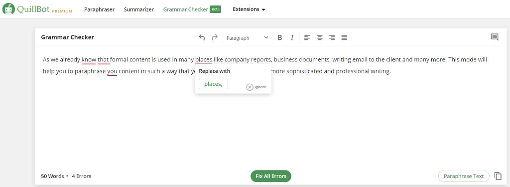 Grammar checker for free