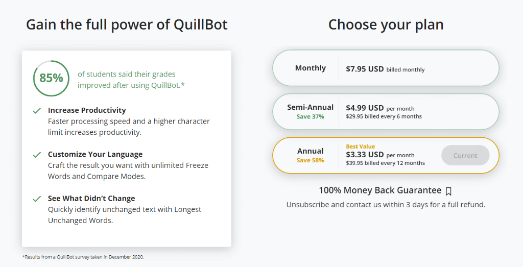 quillbot premium