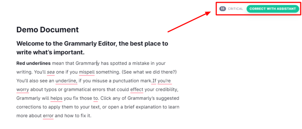 Grammarly extension chrome