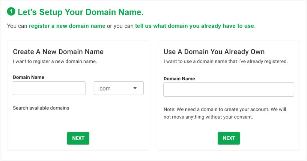 greengeeks-domain-setup