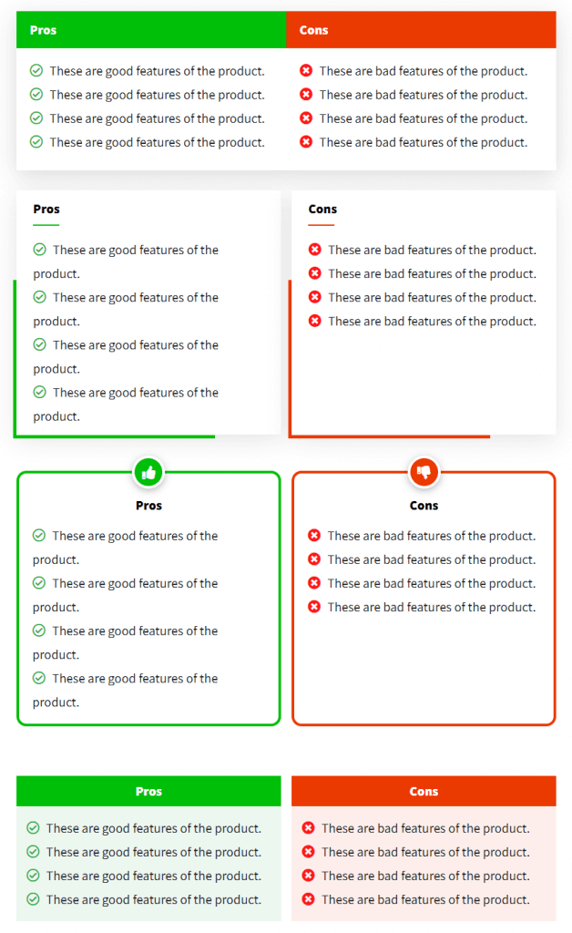 AB Pros and Cons